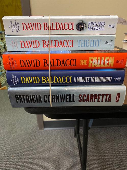 Fiction - Baldacci & Cornwell