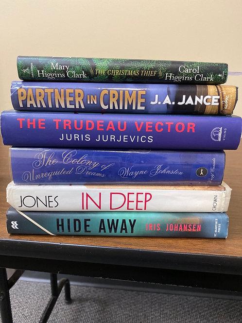 Mixed Fiction - incl. Higgins Clark & J.A. Jance