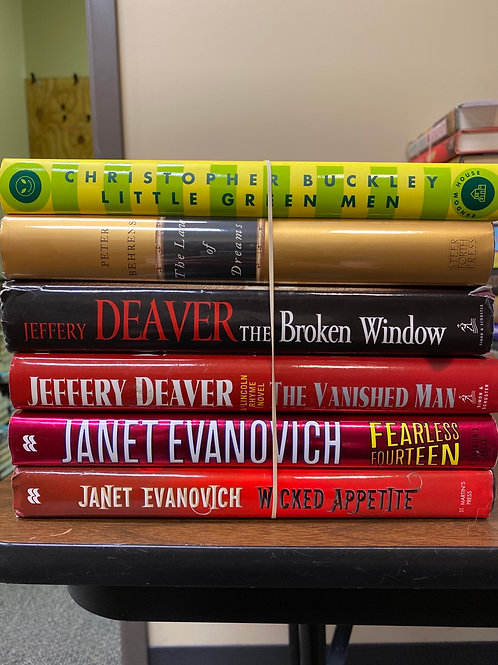 Fiction - Buckley, Behrens, Deaver, Evanovich