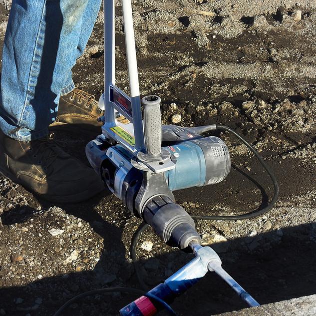 BackSaver Rotary Hammer Drill attachment for Bosch/Makita Version 2.0