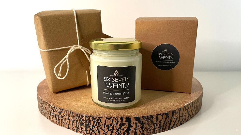 Gift Wrapped 190ml Soy Candle