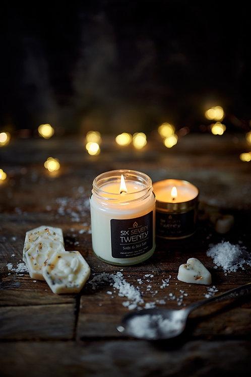 Sage & Sea Salt 190ml Soy Candle