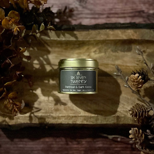Patchouli & Dark Cocoa 100ml Soy Candle