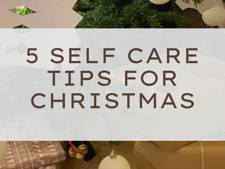 5 self care tips for Christmas