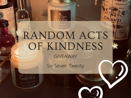 Random acts of kindness giveaway