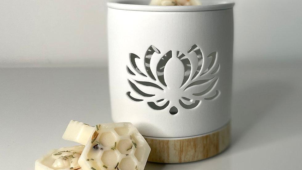 Lotus Flower Cut Out Wax Burner