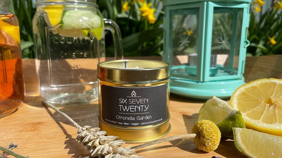 Citronella Garden 100ml Soy Candle