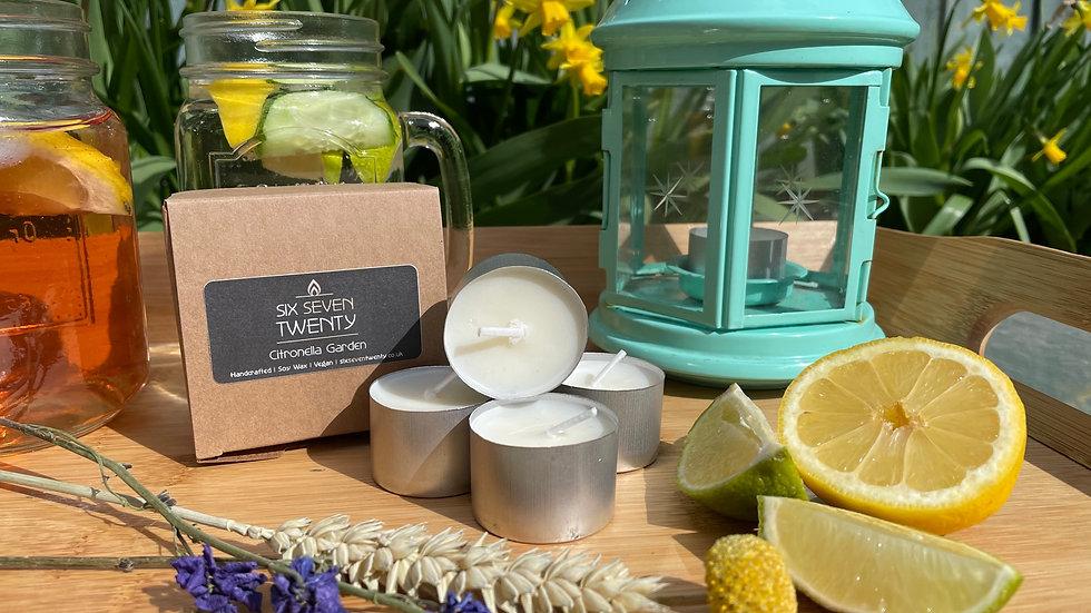 Citronella Garden Tealights | 4 pack