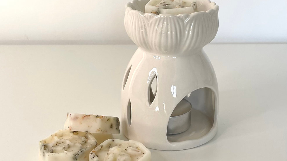 Lotus Flower Ceramic Wax Melt Burner