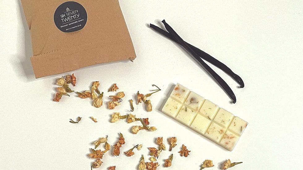 French Vanilla & Jasmine Botanical Snap Bar
