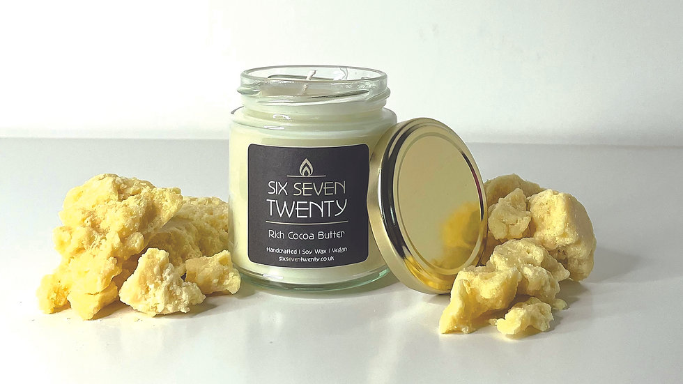 Rich Cocoa Butter 190ml Soy Candle