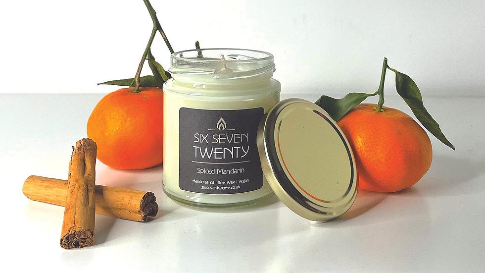 Spiced Mandarin 190ml Soy Candle