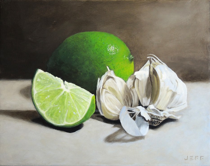 LIMES AND GARLIC