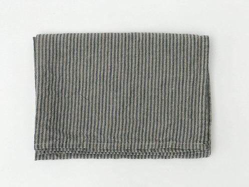 Blue Pin Stripe Linen Kitchen Towel