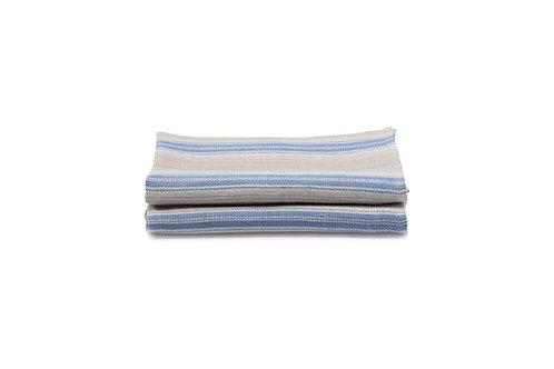 French Country Blue Stripe Napkin