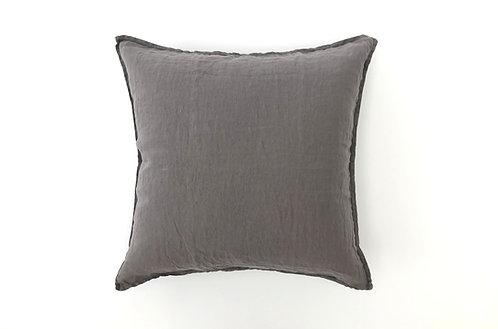 Slate Grey Linen Cushion Cover