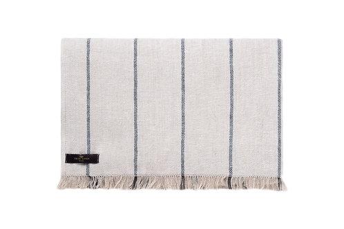 Linen Stripe Throw Jone