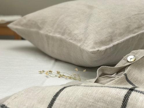 Natural Linen Pillowcase