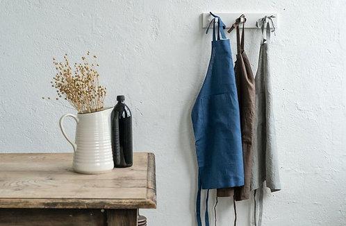 True Linen Kitchen Apron