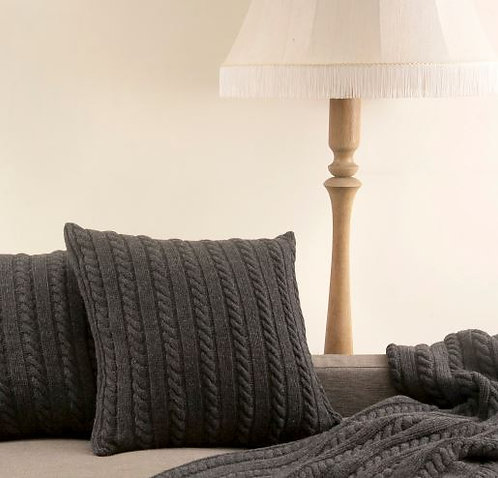 Cable Knit Nordic Cushion
