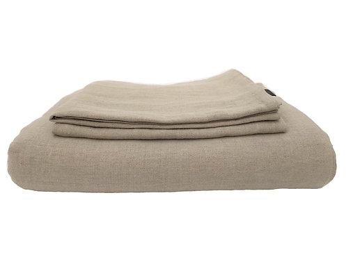 Natural Linen Bedding Set