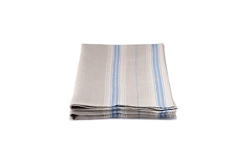French Country Blue Stripe Table Runner