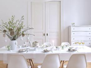 Minimal Easter Table Decoration Ideas