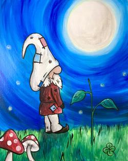 Gnome at Night