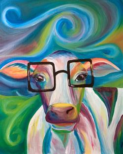 Nerdy Cow
