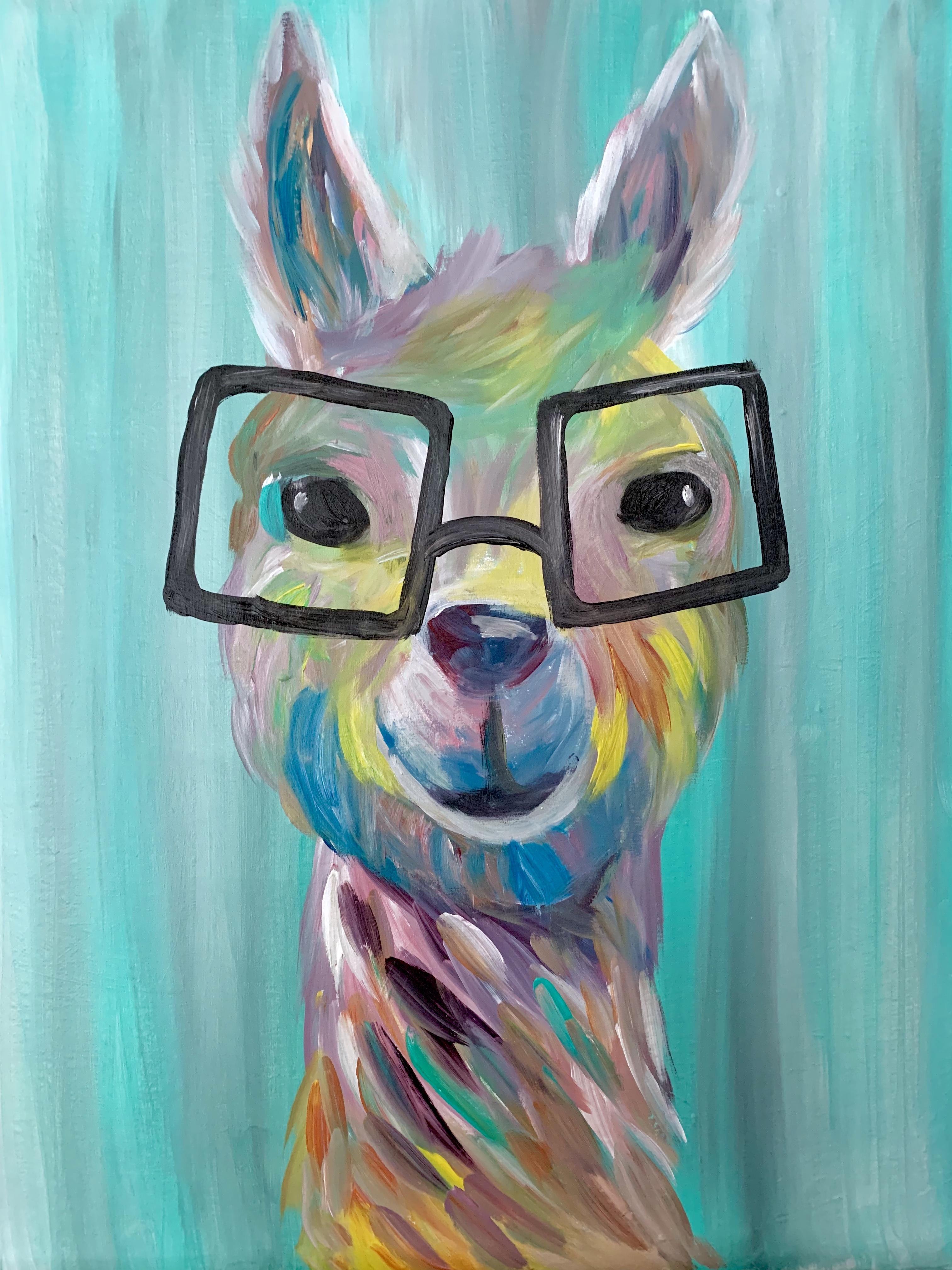 Nerdy Llama