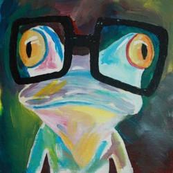 Nerdy Frog