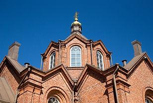 Tiekirkko -  Vaasan pyhän Nikolaoksen kirkko/Vägkyrka - den helige Nikolaos kyrka i Vasa