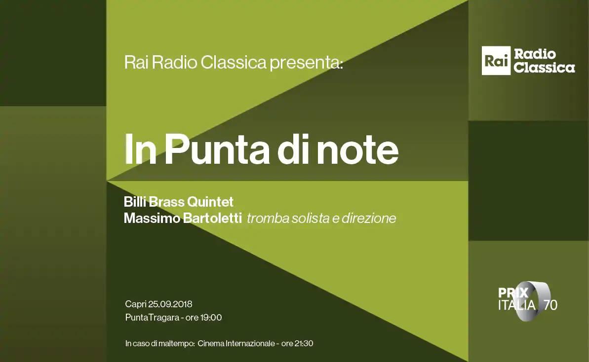 Billi Brass - RAI Radio Classica 1
