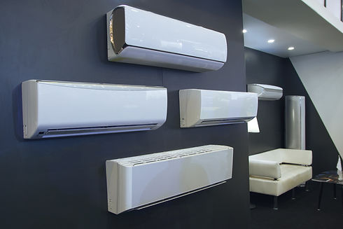 Air conditioner in a row for sale in a s