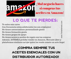 Por qué no conviene comprar doTERRA en Amazon