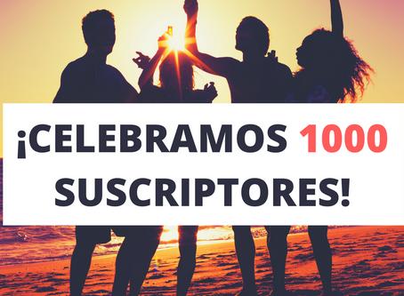 1000 suscriptores en YouTube