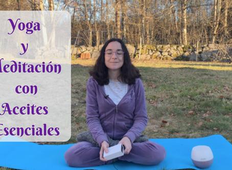 Yoga y Meditación con Aceites Esenciales
