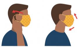Si usa tapabocas, protege a otras personas. ¡Si otras personas usan tapabocas, lo protegen a usted!