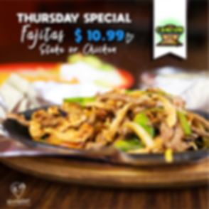Thursday Special in Cancun Grill and Cantina - Yummyland