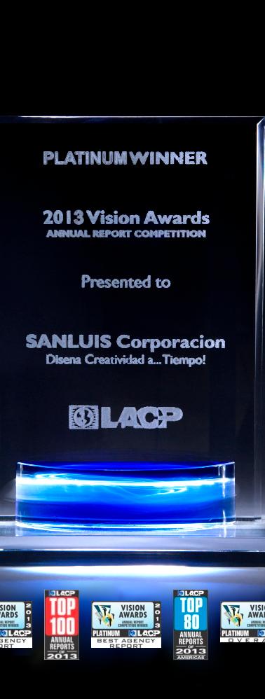 Informe Anual SANLUIS Corporación 2013