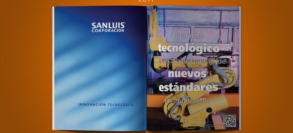 Informe Anual SANLUIS Corporación 2011