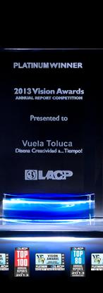 Informe Anual Vuela Toluca Mayo 2012-2013