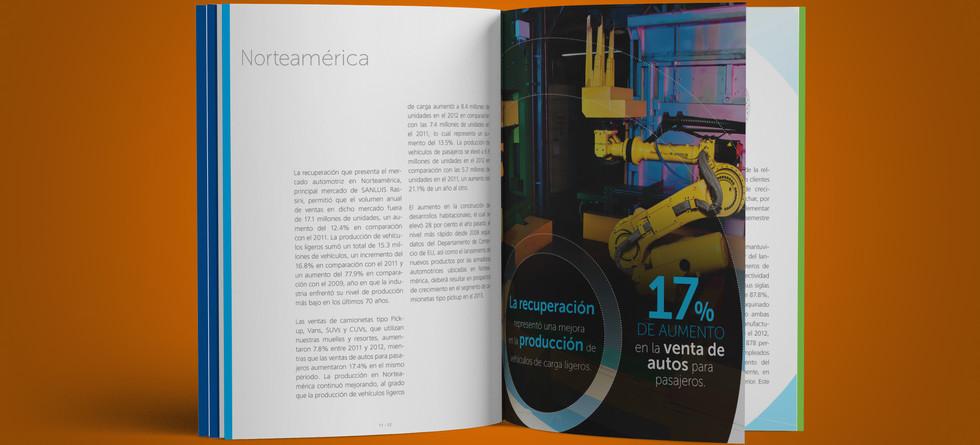Informe Anual SANLUIS Corporación 2012