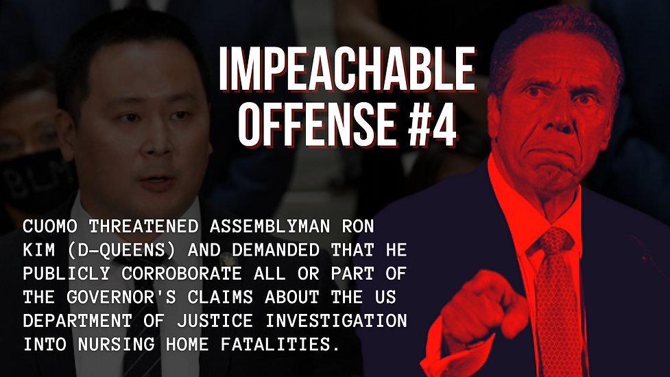 Start An Impeachment Probe of Gov. Cuomo