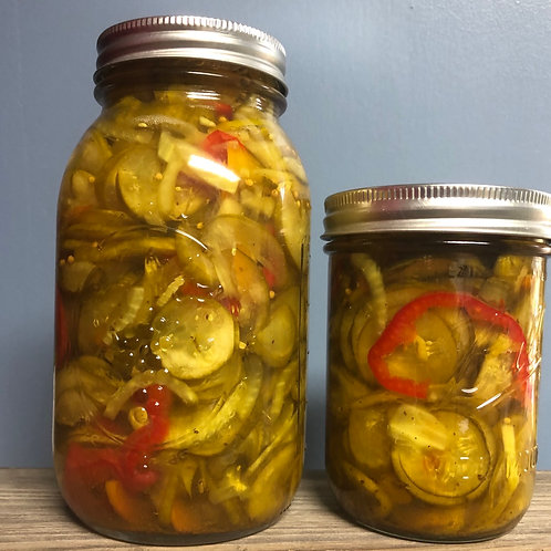 Amish Butter Pickles
