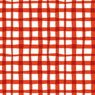 PICNIC rojo - Punto French Terry