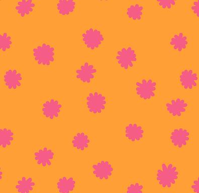 FLAVIA mandarina - Sarga 100% algodón orgánico