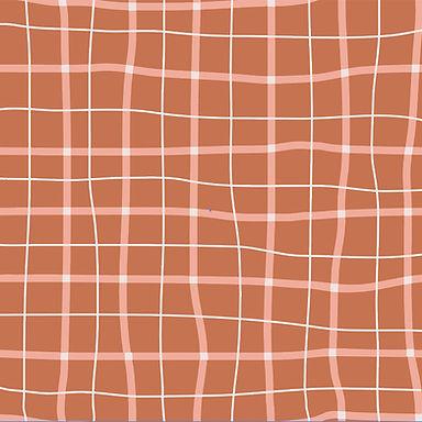 School Squares  - Tela punto jersey 100% algodón