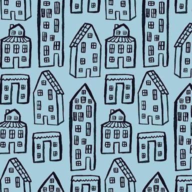 City Kids - Tela loneta orgánica