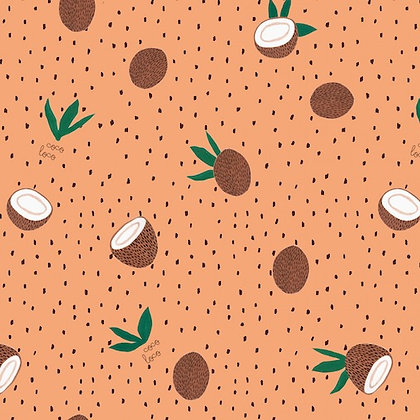 Cocoloco - fruits pattern - jersey fabric